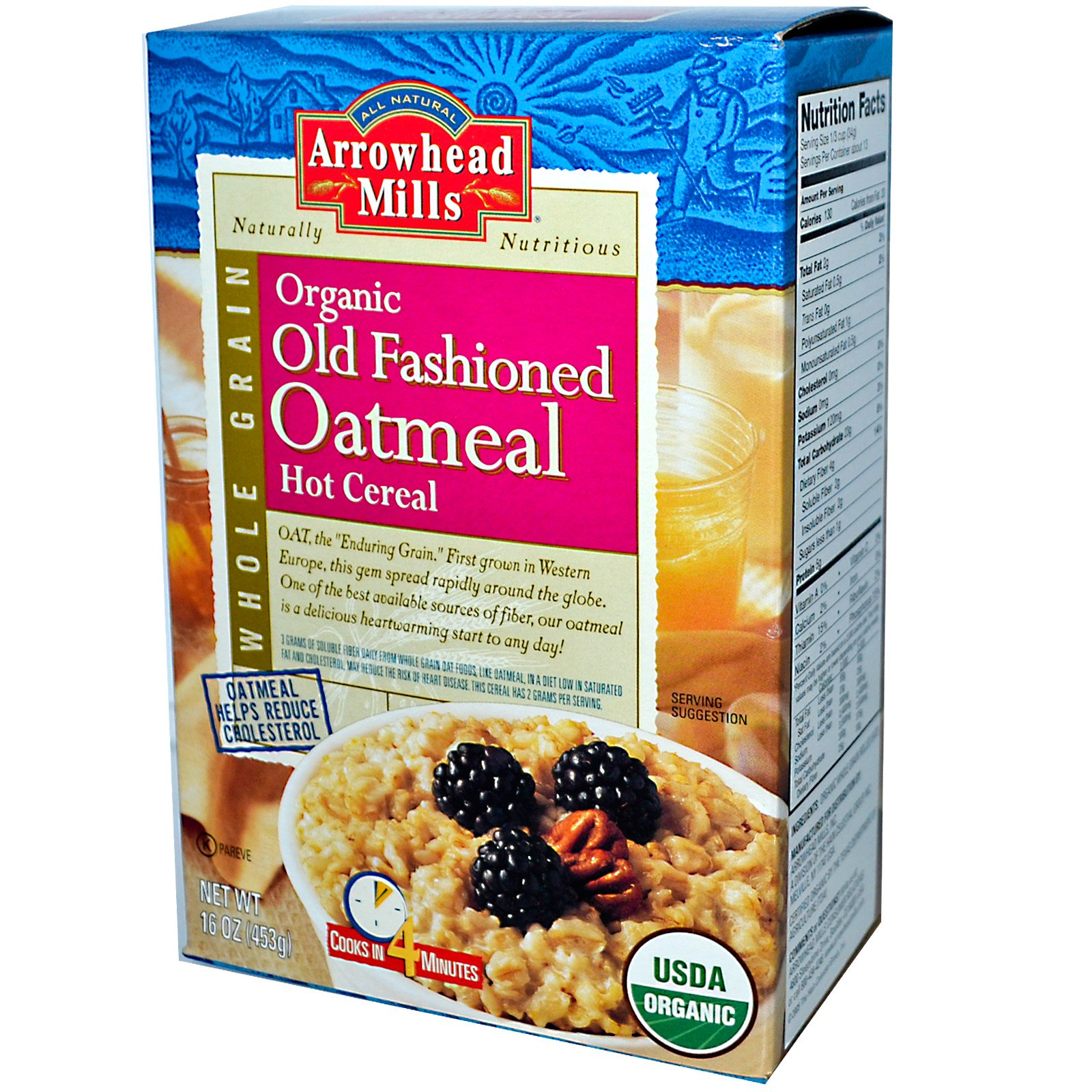 Old fashioned cereal