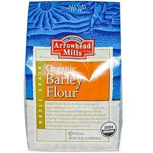 Эрроухэд Миллс, Organic Barley Flour, 24 oz (680 g) отзывы покупателей