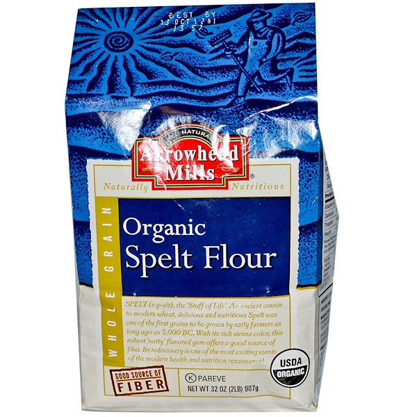 Arrowhead Mills, Organic Spelt Flour, 32 oz (907 g) (Discontinued Item)