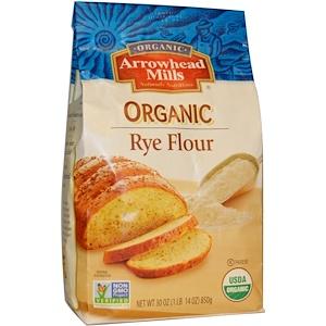 Эрроухэд Миллс, Organic Rye Flour, 30 oz (850 g) отзывы покупателей