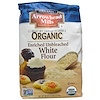 Arrowhead Mills, Organic Enriched Unbleached White Flour, 80 oz (2.27 kg) (Discontinued Item)