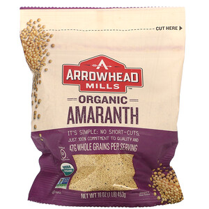 Эрроухэд Миллс, Organic, Amaranth, 16 oz (453 g) отзывы