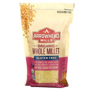 Эрроухэд Миллс, Organic Whole Millet, Gluten Free, 28 oz (793 g) отзывы покупателей