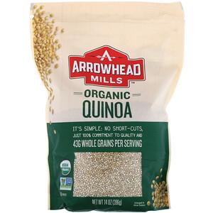 Эрроухэд Миллс, Organic Quinoa, 14 oz (396 g) отзывы покупателей