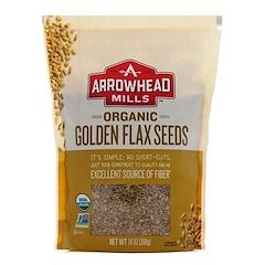 Arrowhead Mills, Organic Golden Flax Seeds, 14 oz (396 g)