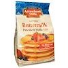 Arrowhead Mills, 自然なパンケーキ&ワッフルミックス, バターミルク, 26オンス(737 g)