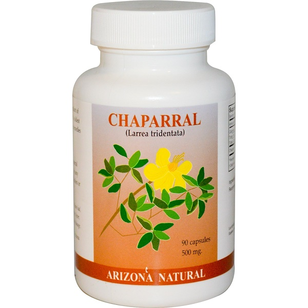Arizona Natural, Chaparral, 90 cápsulas
