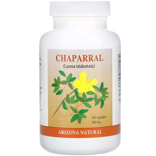 Arizona Natural, Chaparral, 500 mg, 180 Capsules