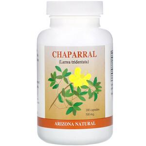 Аризона Натуралс, Chaparral, 500 mg, 180 Capsules отзывы покупателей