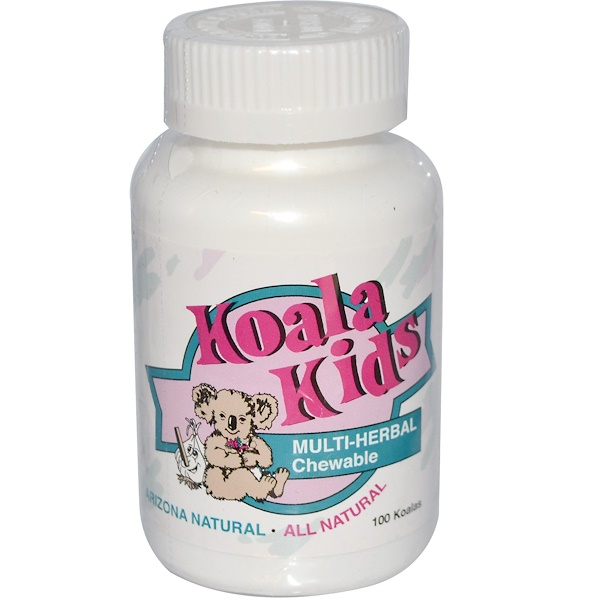 Arizona Natural, Koala Kids, Multi-Herbal Chewable, 100 Koalas (Discontinued Item)