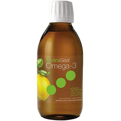 Купить Nutra Sea, омега-3, со вкусом лимона, 6, 8 жидкой унции (200 мл)