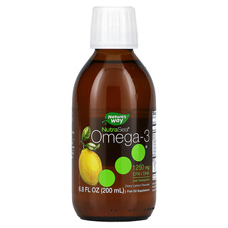 Ascenta, Nutra Sea, Omega-3, Zesty Lemon, 6.8 fl oz (200 ml)