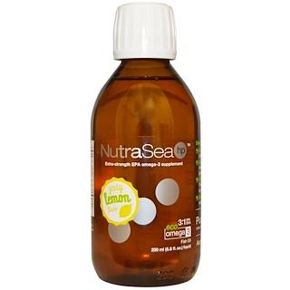 Ascenta, ニュートラシー(NutraSea) HP, 快いレモン風味, 6.8液量オンス(200 ml)