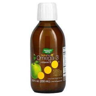 Ascenta, NutraSea + D, Omega-3 + Vitamin D, Crisp Apple, 6.8 fl oz (200 ml)