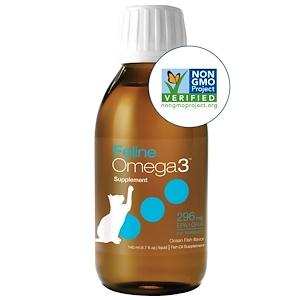 Асцента, Feline Omega3, Ocean Fish Flavor, 4.7 oz (140 ml) Liquid отзывы покупателей