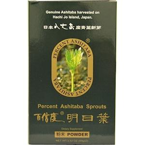 Персент Ашитаба, Ashitaba Sprouts Powder, 2 Packets 1.76 oz (50 g) Each отзывы покупателей