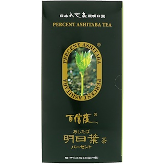 Percent Ashitaba, Tea, 40 Tea Bags, 3.5 oz