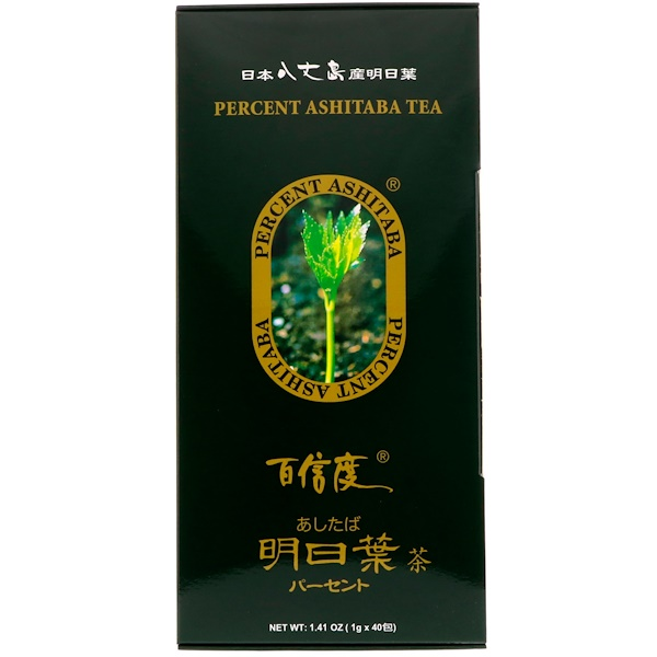 Percent Ashitaba Tea, 40 Tea Bags, 1.41 oz