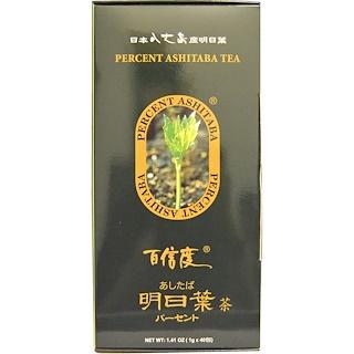 Percent Ashitaba, Percent Ashitaba Tea, 40 Tea Bags, 1.41 oz (1 g) Each