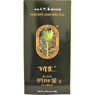 Percent Ashitaba, Tea, 40 Tea Bags, 3.5 oz (2.5 g) Each