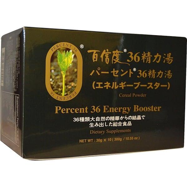Percent Ashitaba, Percent 36,能量助劑,穀物粉,10、55 盎司(300 克)