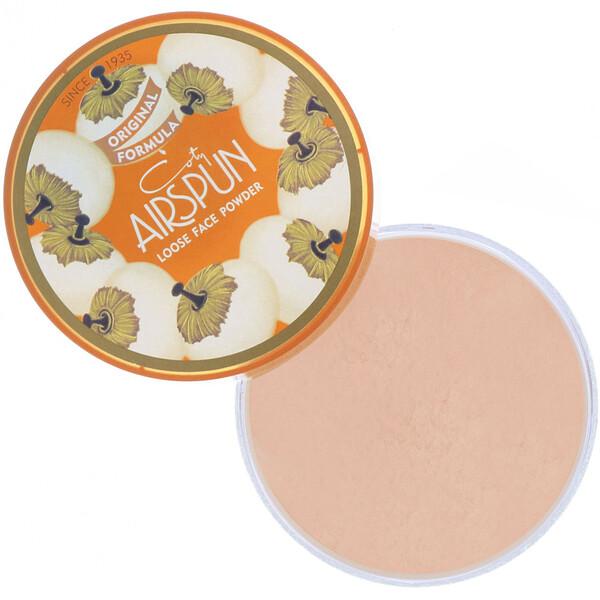 Airspun, Polvo volátil para el rostro, Beige rosado070-22, 65g (2,3oz) (Discontinued Item)
