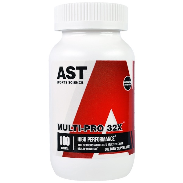 AST Sports Science, Multi-Pro 32X, 100 Tablets (Discontinued Item)