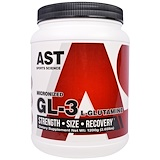Отзывы о AST Sports Science, Микронизированная GL-3, L-глютамин, 2,65 фунта (1200 г)