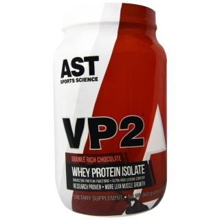 AST Sports Science, VP2, Whey Protein Isolate, Double Rich Chocolate, 2.12 lbs (960 g)