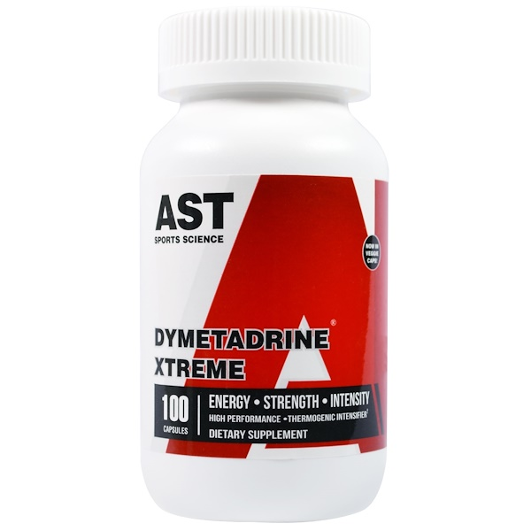 AST Sports Science, Dymetradrine Xtreme, 100 Capsules (Discontinued Item)