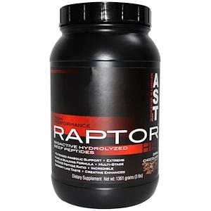 АСТ Спортс Сайэнс, Raptor HP, Dark Chocolate, 3 lbs (1361 g) отзывы