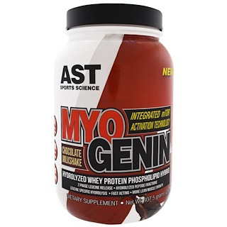 AST Sports Science, MyoGenin, Chocolate Milkshake, 2.07 lbs (937.5 g)