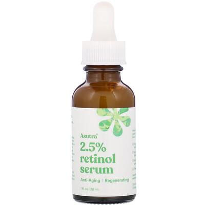 Купить Asutra 2.5% Retinol Serum, 1 fl oz (30 ml)