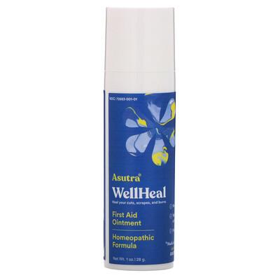Купить Asutra WellHeal, First Aid Ointment, 1 oz (28 g)