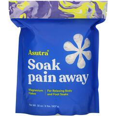 Asutra, Soak Pain Away,鎂片,2 磅(907 克)