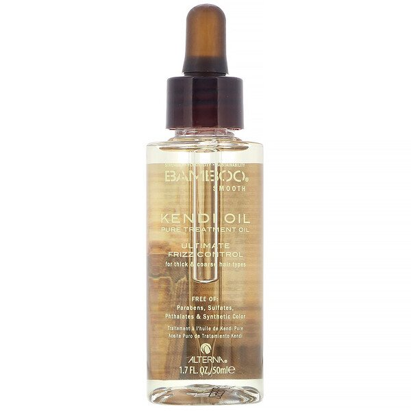 Alterna, Bamboo Smooth, Kendi Oil, Pure Treatment Oil, 1.7 fl oz (50 ml) (Discontinued Item)