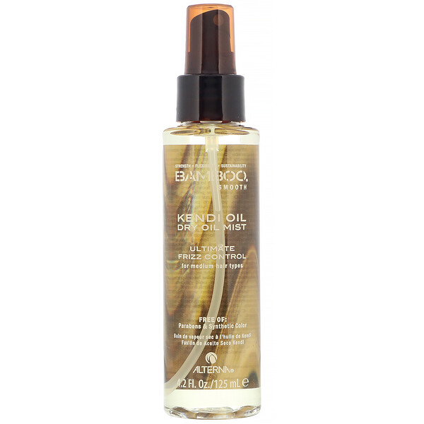 Alterna, Bamboo Smooth, Kendi Oil, Dry Oil Mist, 4.2 fl oz (125 ml) (Discontinued Item)