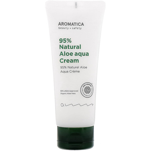 95% Natural Aloe Aqua Cream, 5.2 oz (150 g)