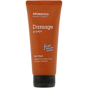 Aromatica, Argan Hair Mask, Damage Care, 6.3 oz (180 g) отзывы