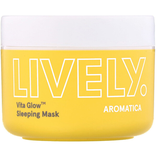 Aromatica, Lively, Vita Glow, Sleeping Mask, 3.5 oz (100 g)