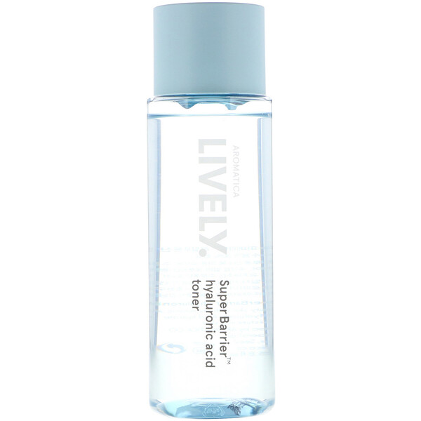 Aromatica, Lively, SuperBarrier, Hyaluronic Acid Toner, 6.8 fl oz (200 ml) (Discontinued Item)