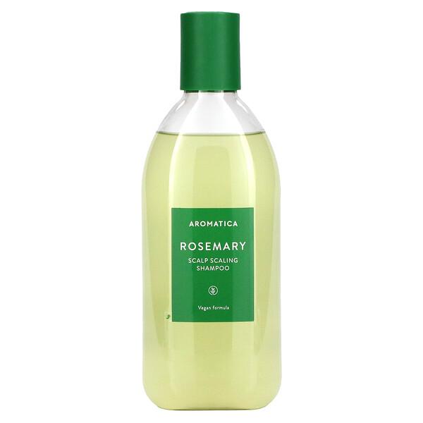 Aromatica, Scalp Scaling Shampoo, Rosemary, 13.5 fl oz (400 ml)
