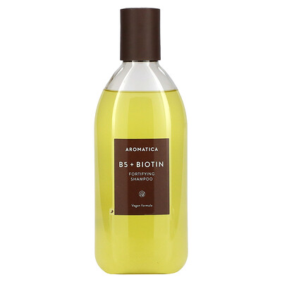 Aromatica B5 + Biotin, Fortifying Shampoo, 13.5 fl oz (400 ml)