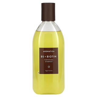 Aromatica, Fortifying Shampoo, B5 + Biotin, 13.5 fl oz (400 ml)