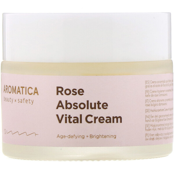 Aromatica, Rose Absolute Vital Cream, 1.7 oz (50 g)