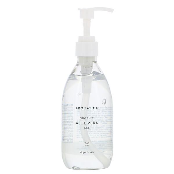 Aromatica, Organic Aloe Vera Gel, 10.1 fl oz (300 ml)
