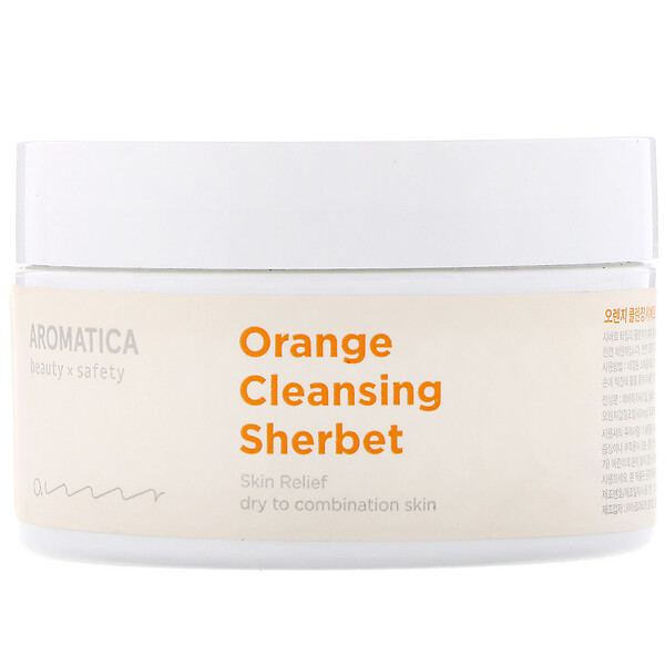 Aromatica, Orange Cleansing Sherbet, 6.3 oz (180 g) (Discontinued Item)