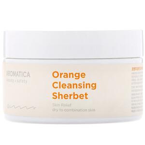 Aromatica, Orange Cleansing Sherbet, 6.3 oz (180 g) отзывы покупателей
