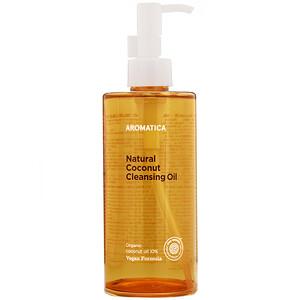 Aromatica, Natural Coconut Cleansing Oil, 10.1 fl oz (300 ml) отзывы