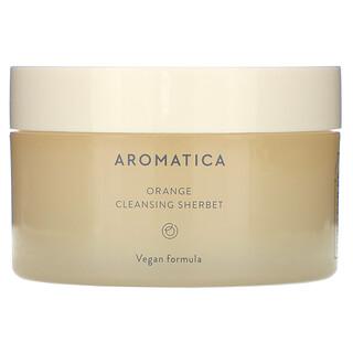 Aromatica, Orange Cleansing Sherbet, 5.2 fl oz (150 g)